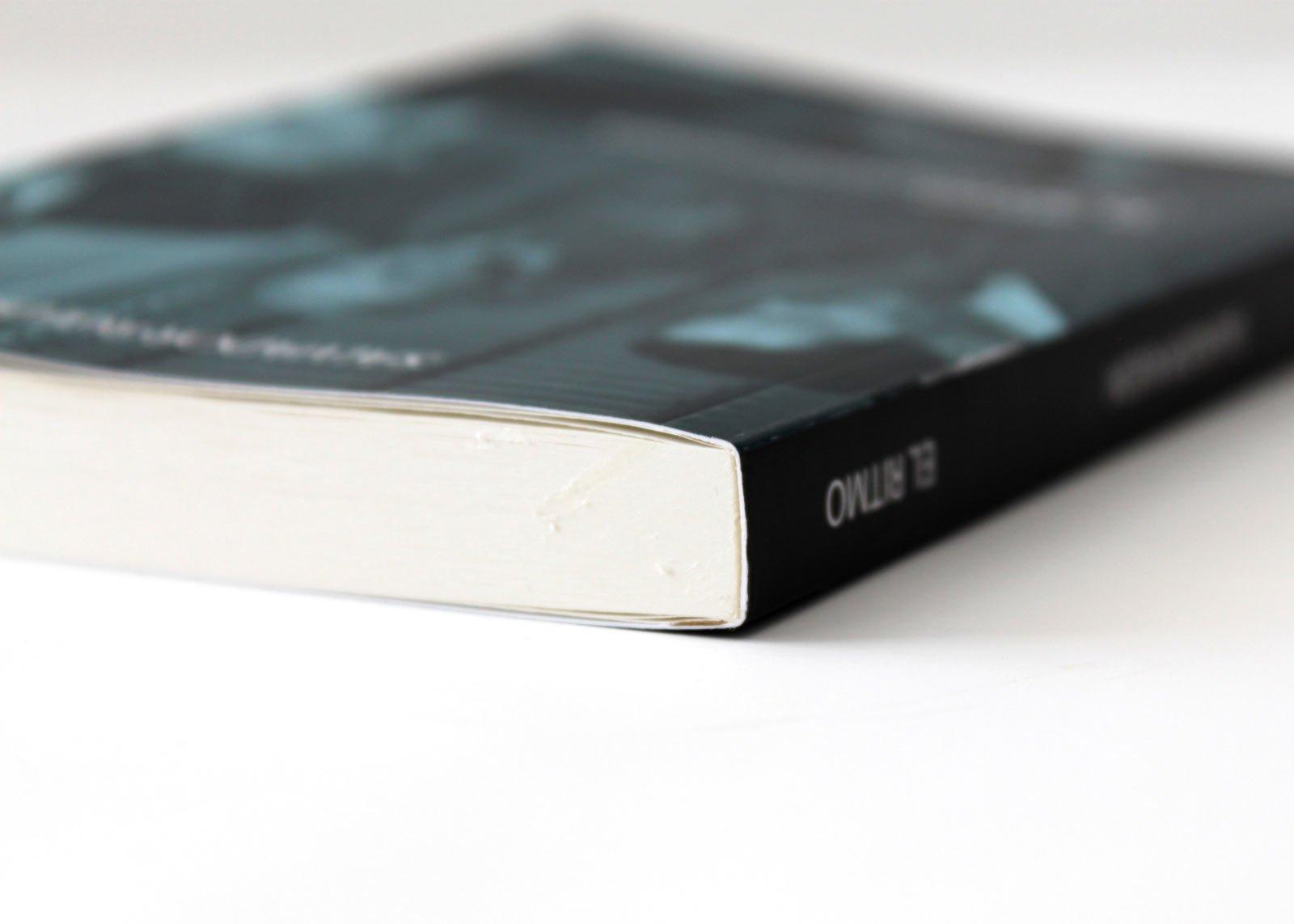 Impresión digital de libros, tapa blanda, encolado pur